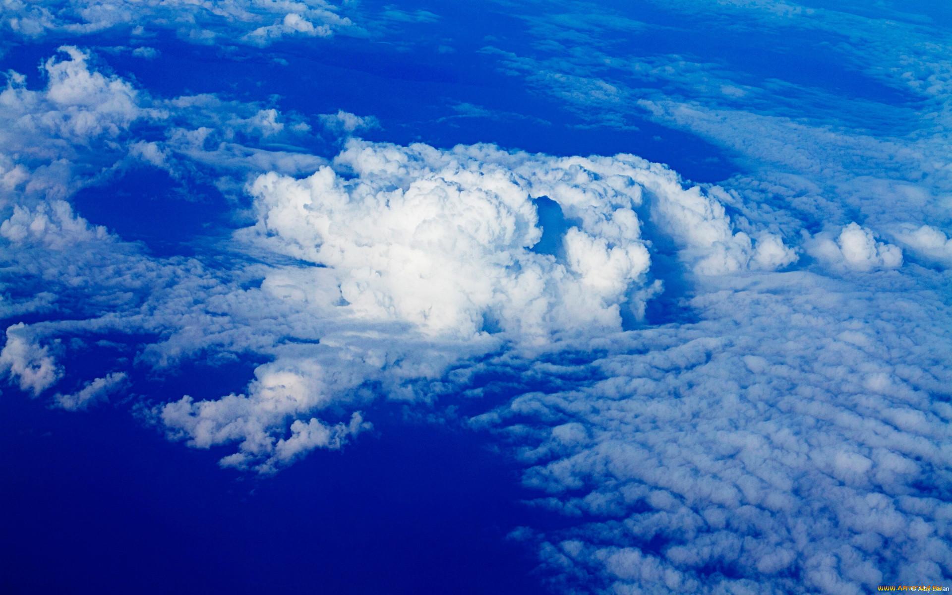 Картинки облачного неба высокого